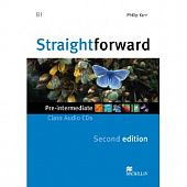 Straightforward (Second Edition) Pre-Intermediate Class Audio CDs (Лицензия)