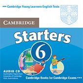 Cambridge Young Learners English Tests Starters 6 Audio CD (Лицензия)