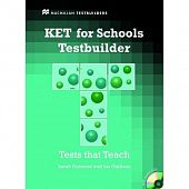 KET for Schools Testbuilder: Student's Book + Audio CD Pack