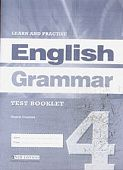 Learn and Practise English Grammar 4 Test Booklet