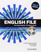 English File Third Edition Pre-Intermediate Student's Book with iTutor & Online Skills