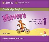 Cambridge English (for Revised Exam from 2018) Movers 1 Audio CD (2) (Лицензия)