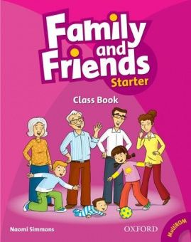 Family and Friends Starter Class Book and MultiROM Pack