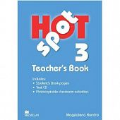 Hot Spot 3 Teacher's Book + Test CD