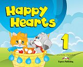 Happy Hearts 1 Pupil's Book (+ Stickers & Press Outs)