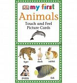 My First Touch & Feel Picture Cards: Animals  (PICTURE CARDS) Карточки