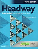 New Headway Intermediate Fourth Edition Workbook and iChecker without Key
