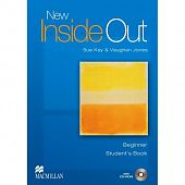 New Inside Out Beginner Student's Book + CD-ROM Pack + online-code