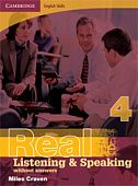 Cambridge English Skills: Real Listening & Speaking Level 4 Book without answers