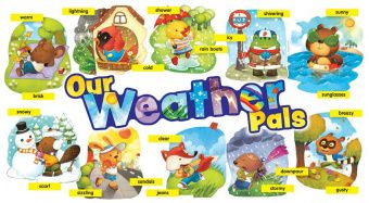 Weather Pals Bulletin Board (90 pieces)