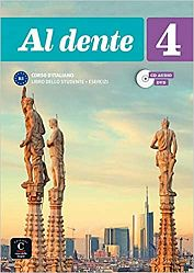 Al dente 4 Libro dello studente + Esercizi + CD audio + DVD