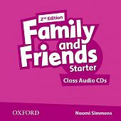Family and Friends Second Edition Starter Class Audio CD's (2)