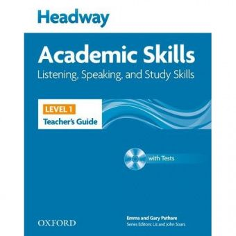 New Headway Academic Skills: Listening, Speaking, and Study Skills Level 1 Teacher's Guide with Test CD-ROM