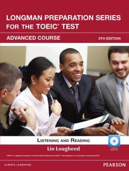 Longman Preparation Series for the TOEIC® Test, 5th Edition Advanced Course Book with CD-ROM (incl. MP3 Audio)