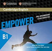 Cambridge English Empower Pre-Intermediate Class Audio CDs (3) (Лицензия)