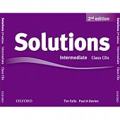 Solutions Second Edition Intermediate Class Audio CDs (3)