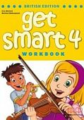 Get Smart British Edition 4 Full-colour Workbook + Audio CD/CD-ROM