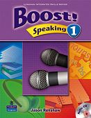 Boost Speaking 1 Student's Book with Audio CD