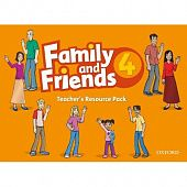 Family and Friends 4 Teacher's Resource Pack (including Photocopy Masters Book, and Testing and Evaluation Book)