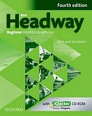 New Headway Beginner Fourth Edition Workbook + iChecker with Key