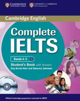 Complete IELTS Bands 4-5 Student's Pack (Student's Book with answers with CD-ROM and Class Audio CDs (2))