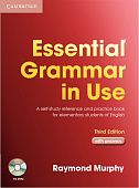 Essential Grammar in Use 3rd Edition  Book with answers and CD-ROM