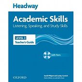 New Headway Academic Skills: Listening, Speaking, and Study Skills Level 2 Teacher's Guide with Test CD-ROM