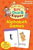 Alphabet Games (Read with Biff, Chip and Kipper: Phonics Flashcards) Карточки (55)