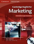 Cambridge English for Marketing Student's Book with Audio CDs (2)