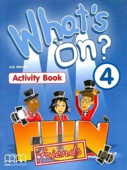 What's on? 4 Activity Book