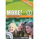More! Level 1 Student's Book with interactive CD-ROM with Cyber Homework