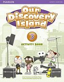 Our Discovery Island Level 3 Activity Book (with CD-ROM)