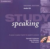 Study Speaking Second Edition: Audio CD