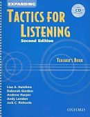 Tactics for Listening Second Edition Expanding Teacher's Book with Audio CD