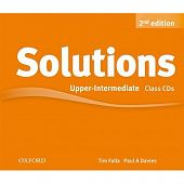 Solutions Second Edition Upper-intermediate Class Audio CDs (3)