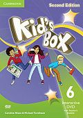 Kid's Box Updated Edition Second Edition 6 Interactive DVD (NTSC) with Teacher's Booklet