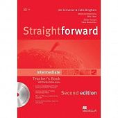 Straightforward (Second Edition) Intermediate Teacher's Book Pack