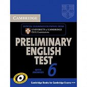 Cambridge Preliminary English Test 6 Self - Study Pack
