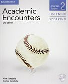 Academic Encounters 2nd Edition Level 2: American Studies - Listening and Speaking Student's Book with DVD