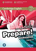 Cambridge English Prepare! Level 4 Workbook with Audio-online