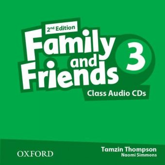 Family and Friends Second Edition 3 Class Audio CD's (2)