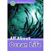 Oxford Read and Discover Level 4 All About Ocean Life with MP3 download