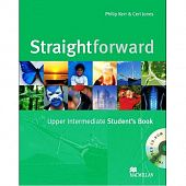 Straightforward Upper Intermediate Student's Book & CD-ROM Pack