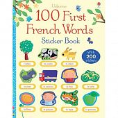 100 First English Words Sticker Book (Paperback)