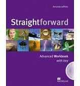 Straightforward Advanced Workbook with Key Pack