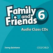 Family and Friends 6 Class Audio CDs