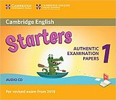 Cambridge English (for Revised Exam from 2018) Starters 1 Audio CD