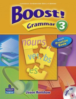 Boost Grammar 3 Student's Book with Audio CD