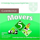 Cambridge Young Learners English Tests Movers 5 Audio CD (Лицензия)