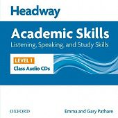 New Headway Academic Skills: Listening, Speaking, and Study Skills Level 1 Class Audio CDs